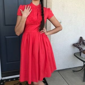 Eliza J Pink A-Line Dress Size 2P